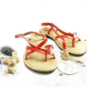 Report Sandals Flat Sole Size 8
